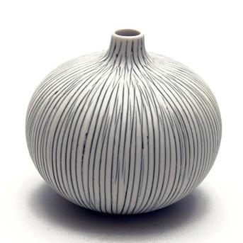 Lindform vase, Bari stribe