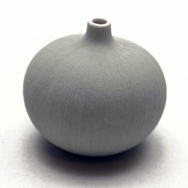 Lindform vase. Bari lys grå