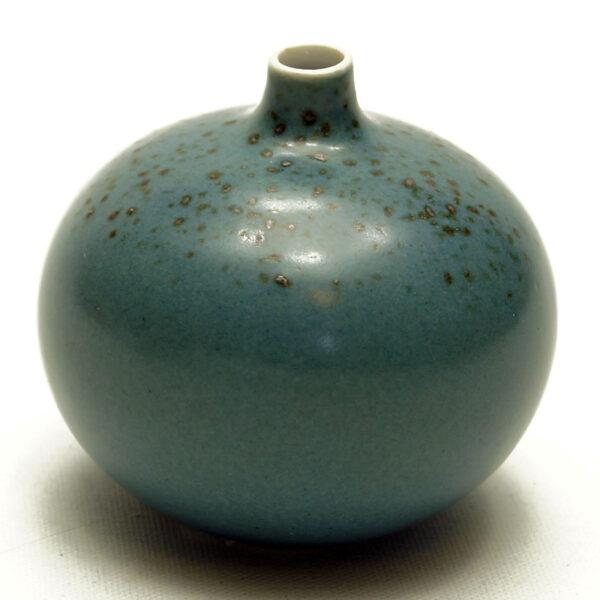 Lindform vase, Bari støvblå