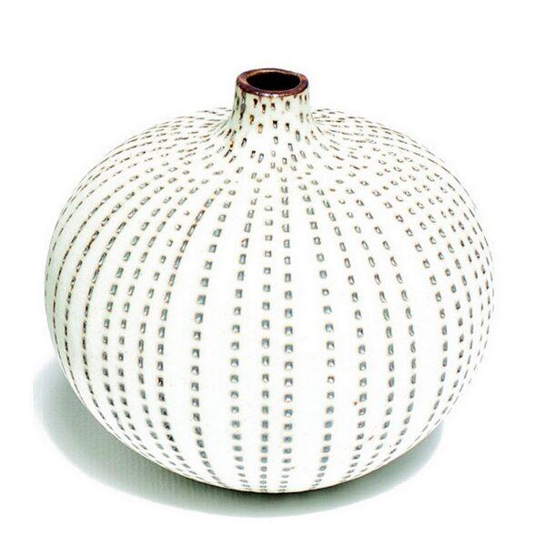 Bari, brun plet Lindform vase