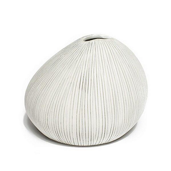 Asti grå streg Lindform vase