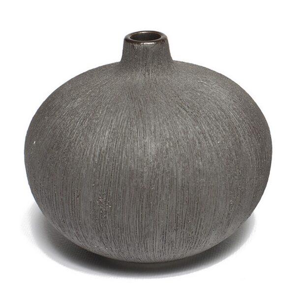 Bari, sort Lindform vase
