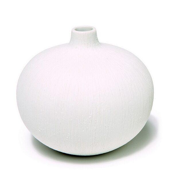 Bari, hvid Lindform vase