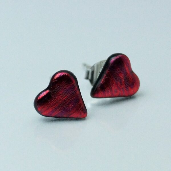 fp hjerte rød meleret