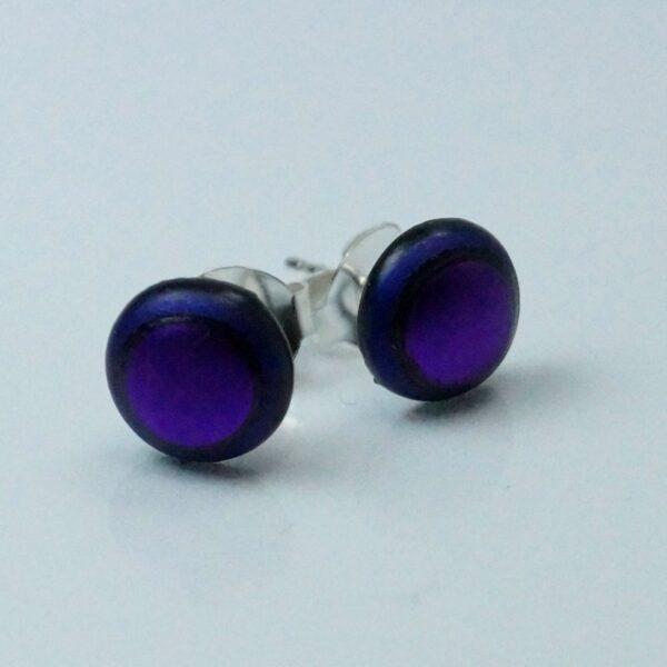 fp lille rund violet på lilla
