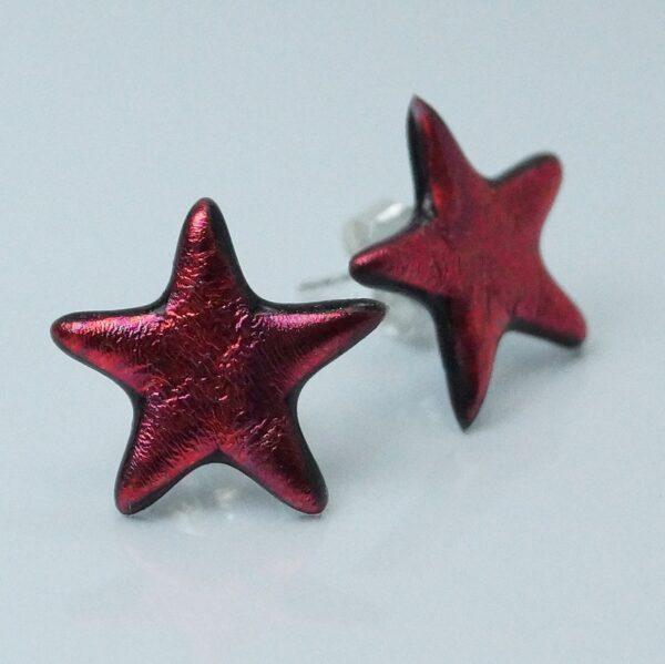 fp stjerne rød meleret