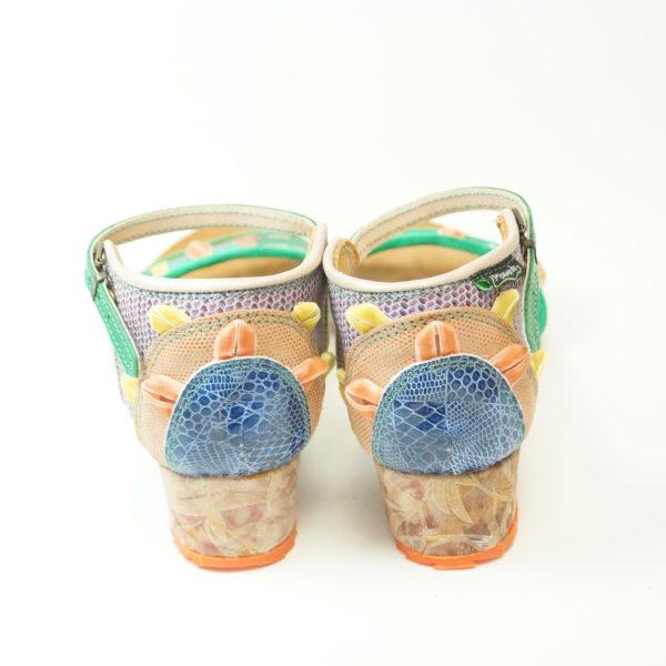 Pisaverde sandal Loren Lav 40