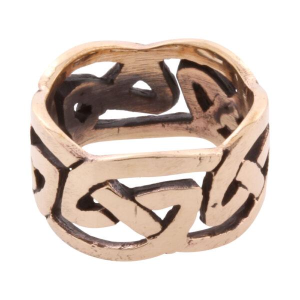 Vikingesmykker. Ring i bronze