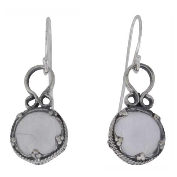 Vikingesmykker, ørehængere i sølv