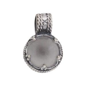 Vikingesmykke, vedhæng med krystal