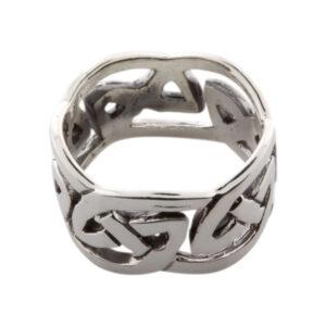 Vikingesmykker. Ring i sølv