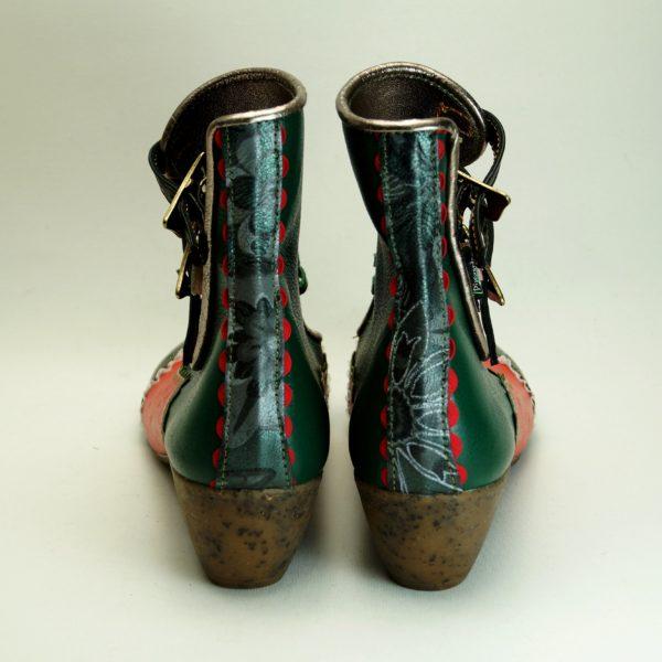 Håndsyet unika læderstøvle fra Pisaverde 41