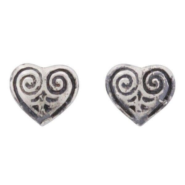 vikingesmykke ørestikker hjerte