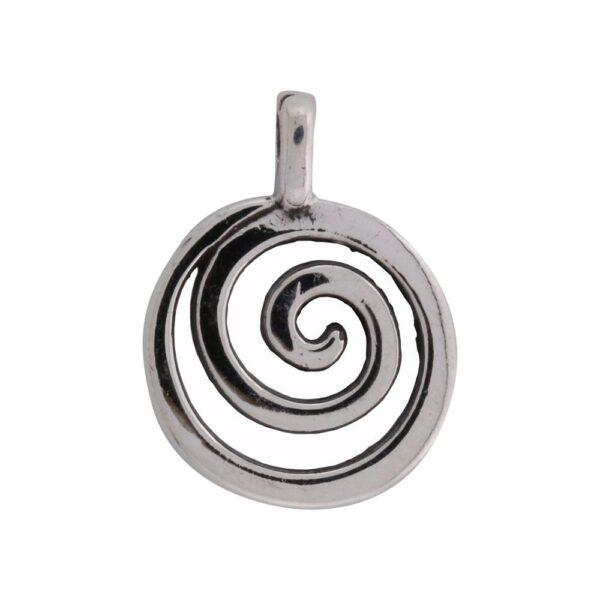 Vikingesmykker, vedhæng spiral