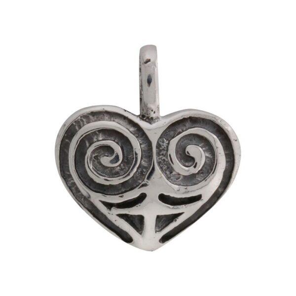 vikingesmykke vedhæng hjerte