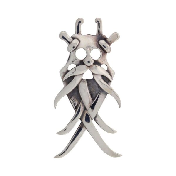 Vikingesmykke, vedhæng maske