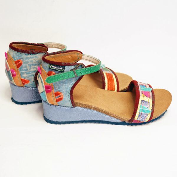 Pisaverde sandal Loren low 36