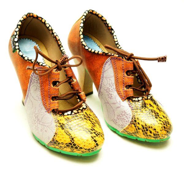 Håndsyede spanske sko fra Pisaverde Amy 36