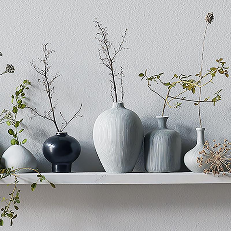 Lindform keramikvaser, svensk design