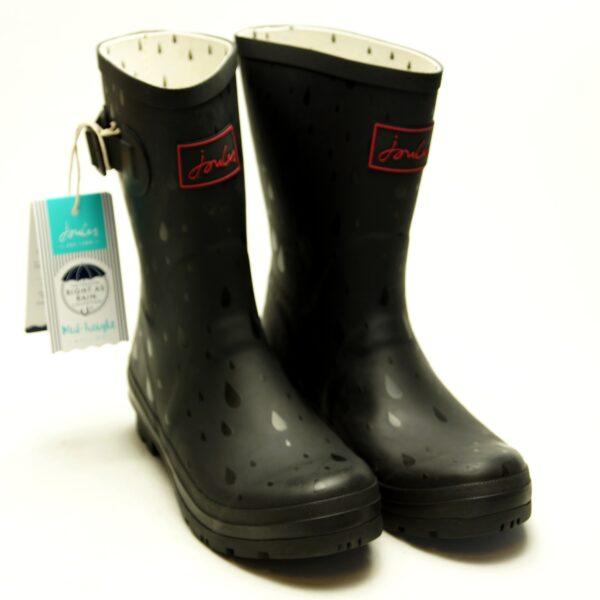Gummistøvler med regndråber