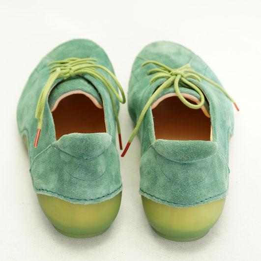 Grønne Kapsl sko fra THINK!
