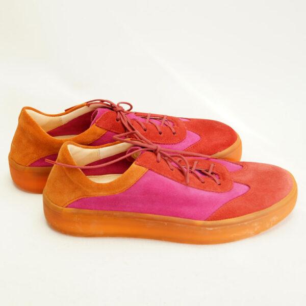 Farverige sko fra THINK! Ruskind
