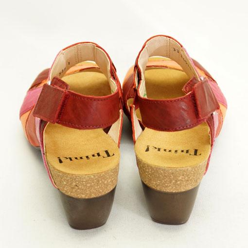 Farverig let sandal fra THINK!