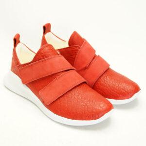 Rød behagelig sko fra THINK!