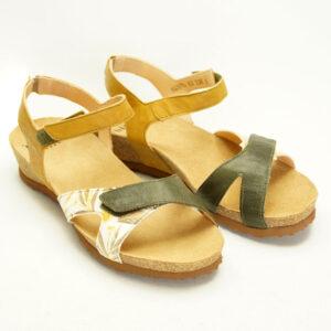 Let sandal i oliven fra THINK!