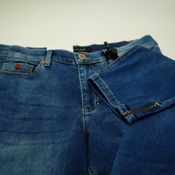 Merrytime super slim fit jeans stumpebukser