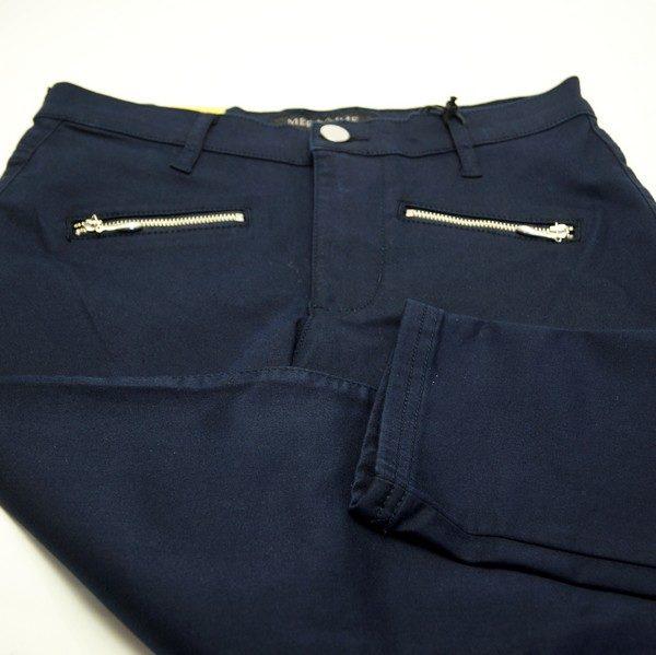 Merrytime slim fit mørkeblå bukser