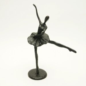 Sort jernfigur, ballerina