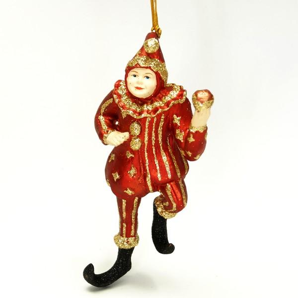 Tivoli-figur, narredans med æble
