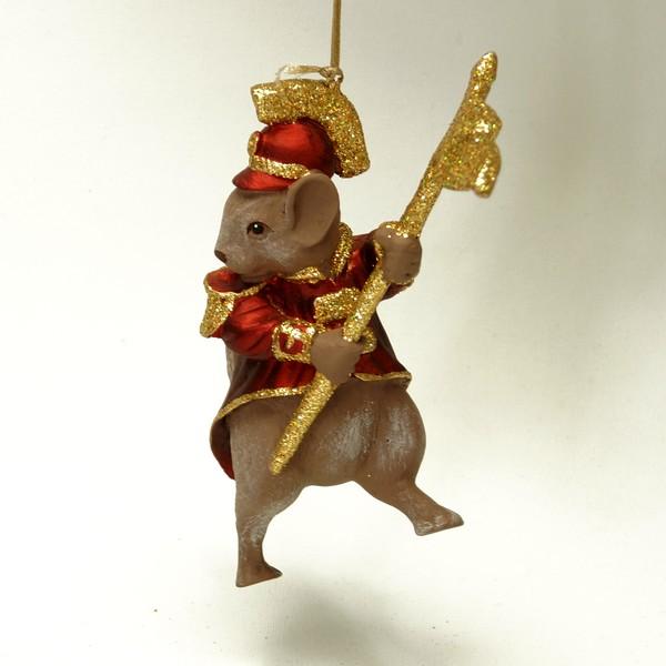 Tivoli-figur, rottegeneral med flag