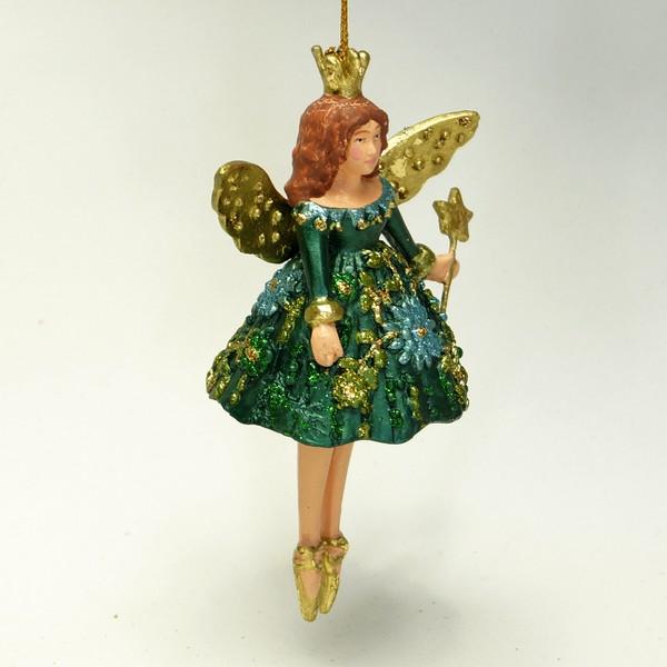 Tivoli-figur grøn alfepige