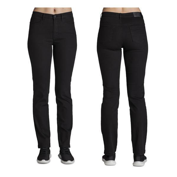 Merrytime bukser, sort med lige ben