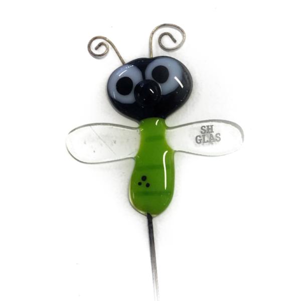 Glasinsekt på stang: Grøn filur