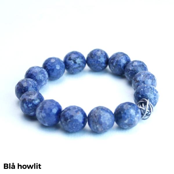 Armbånd blå howlit