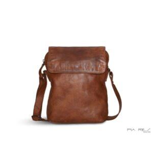 Pia Ries lædertaske 055 cognacfarvet