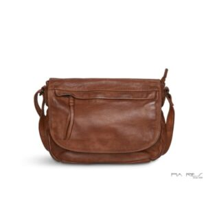 Pia Ries lædertaske 056 cognac