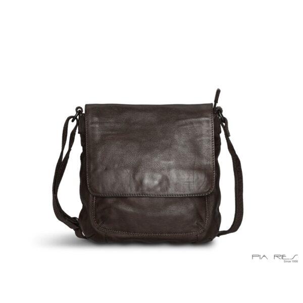 Pia Ries lædertaske 058 sort