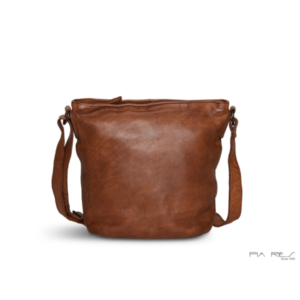 Pia Ries lædertaske 054 cognac