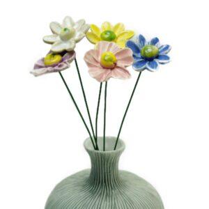 Keramikblomster, Lindform vase