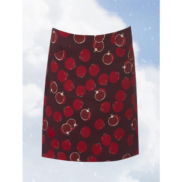 Du Milde nederdel Anetas Pommegranate