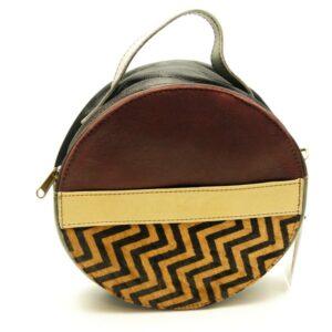 Soruka upcykled lædertaske, Vigga 040