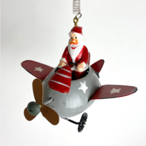 Flyvende julemand