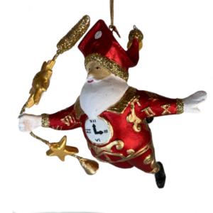Eventyrfigur: Julemand i klokkestreng