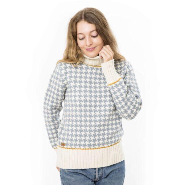 Fuzawool strik, Helga sweater