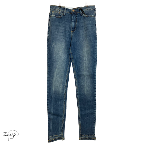 MERRYTIME, rå jeans superslim