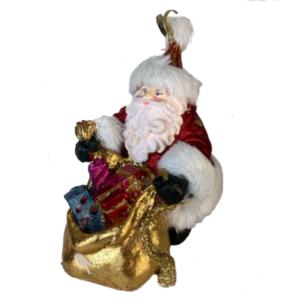 Eventyrfigur: julemand med gaver